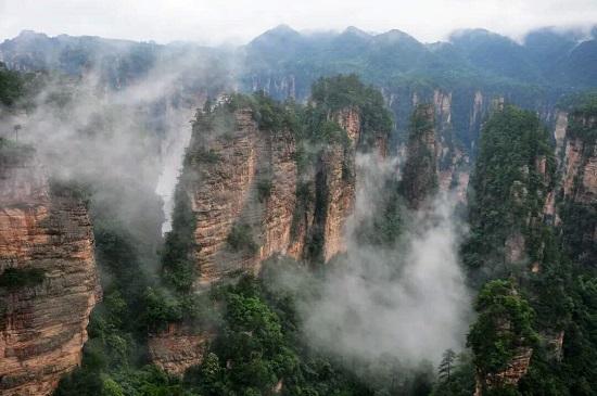 Huangshizhai or Yellowstone Village Scenic Area