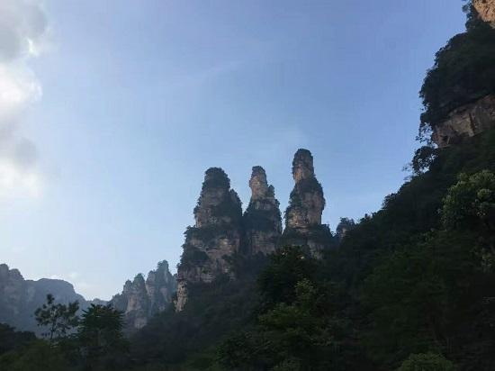 The Five Fingers Peak Zhangjiajie