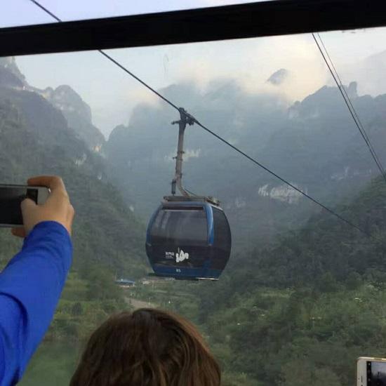 Zhangjiajie Tianmen Mountain Cable Car