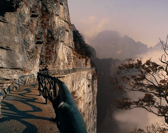 The Ghost Path of Tianmen Mountain