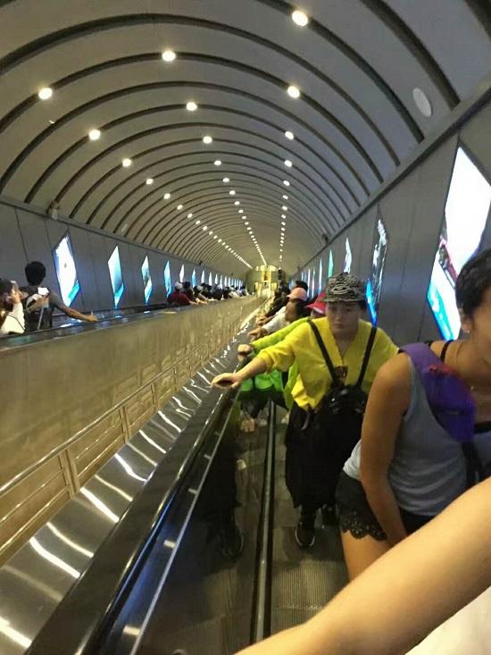 Zhangjiajie Tianmen Mountain Tunnel Elevator