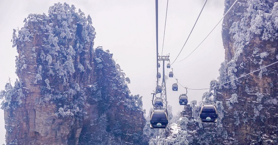 Tianzi Mountain Cable Car