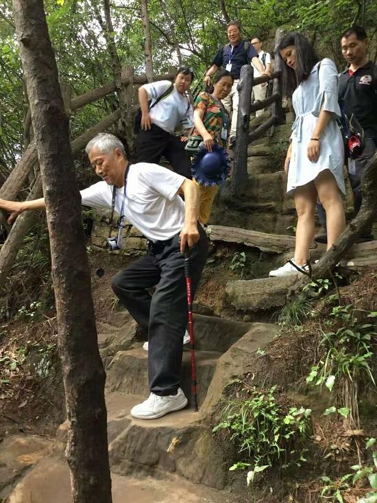Steep Road in Yangjiajie