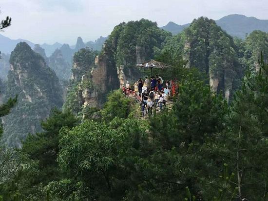 Wulong Village in Yangjiajie Scenic Area