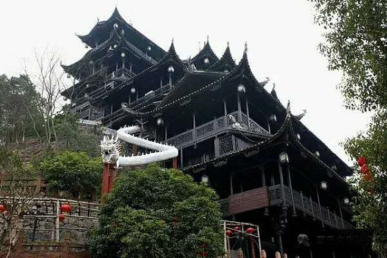 Zhangjiajie Tujia Folk Custom Park